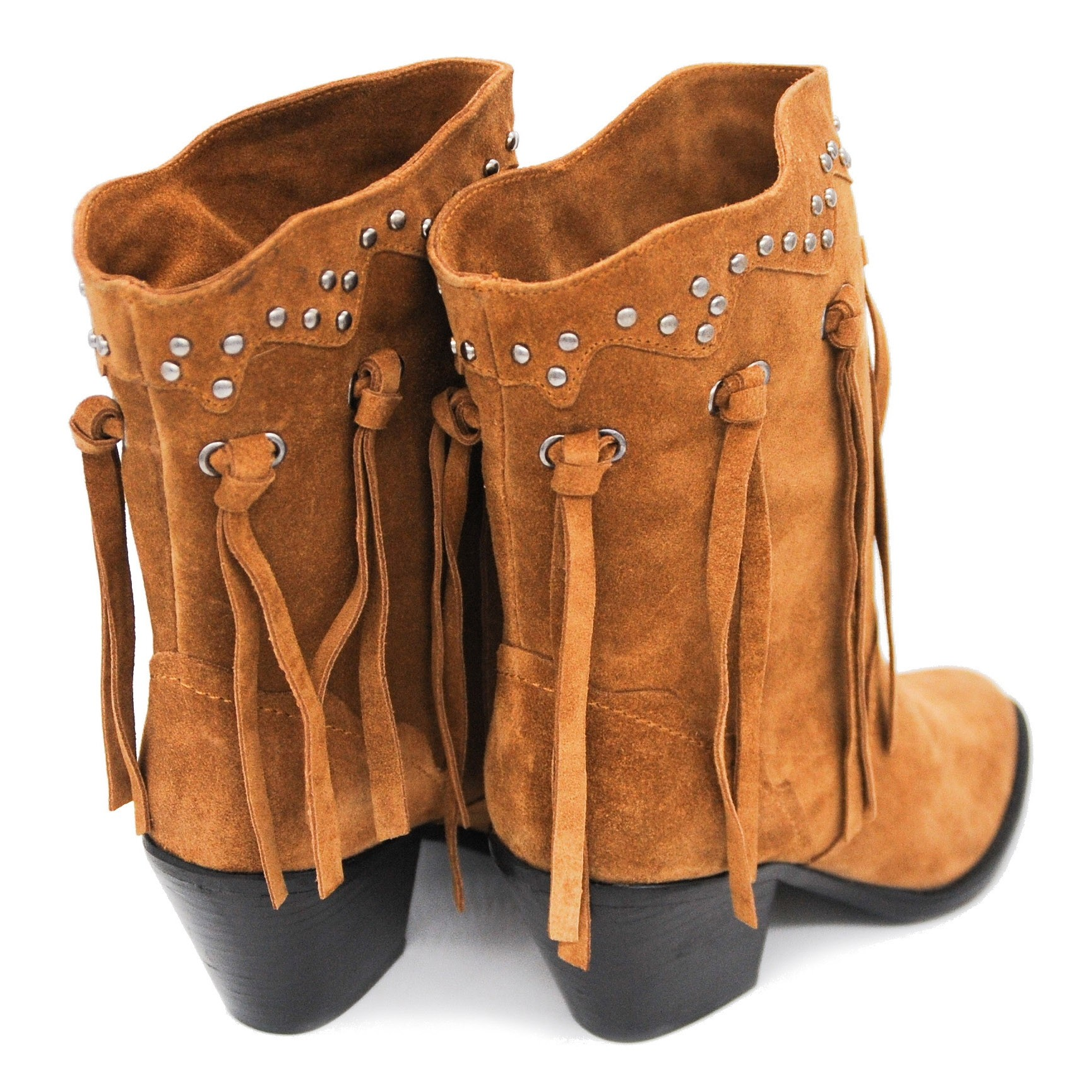 Ankle Length Ladies' Fashion Boots in Beautiful Soft Suede